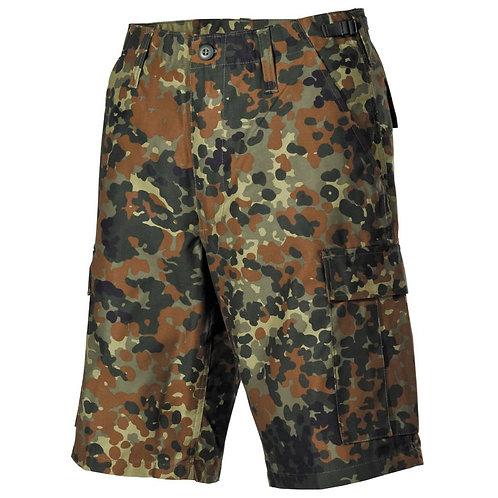 MFH - Militaire Bermuda Broek - Flecktarn Camouflage