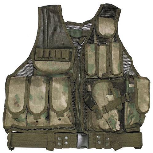 "MFH - Tactical Vest ""USMC"" - HDT - Forest Camouflage"