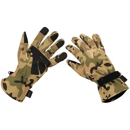MFH - Soft Shell Handschoenen - Operation Camouflage