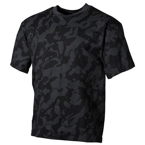 MFH - T-shirt - Korte Mouwen - Night Camo