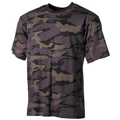 MFH - T-shirt - Korte Mouwen - Combat Camo