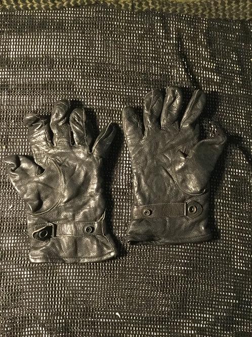Koninklijke Landmacht Handschoenen Met Voering Zwart Leer