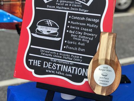 The Destination Takes 3rd at Burger Wars!