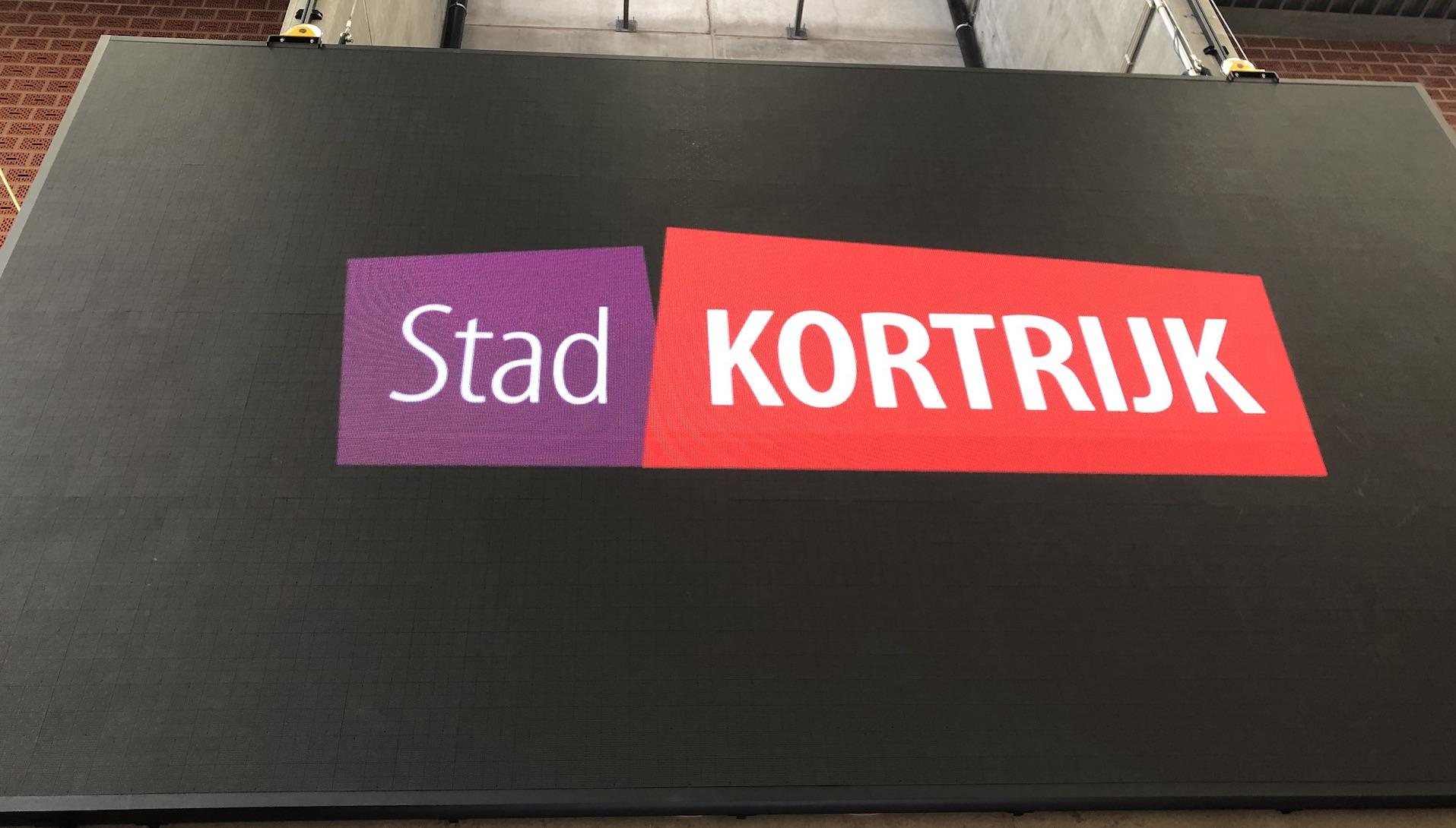 Kortrijk - LED screen - Lange Munte