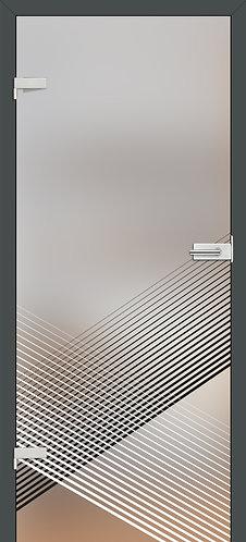 Ușă din sticlă GRAF 54