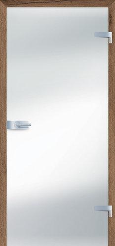 Ușă din sticlă grafit satinat LUMEN