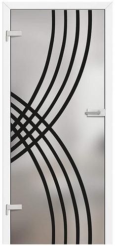 Ușă din sticlă GRAF 7