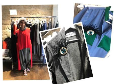 ISEM Paris, une ancienne étudiante présentait sa collection pendant la Fashion Week.