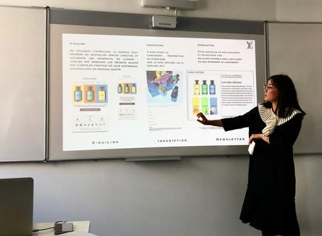 Stratégie de communication pour le lancement des 3 fragrances de Louis Vuitton