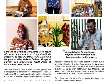 Travaux étudiants - Fashion Week Expérience