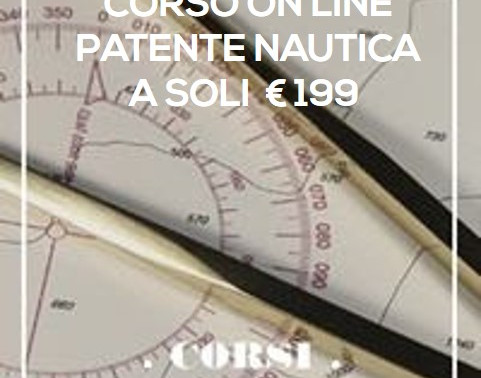 CORSI SERALI ONLINE  patente nautica vela-motore