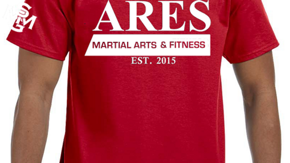 Ares Martial Arts & Fitness Tshirt