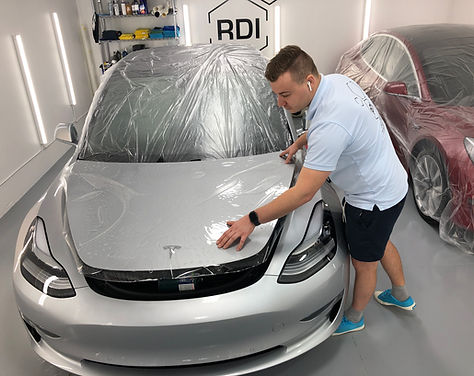 Ceramic coating Vancouver Opti Coat tesla paint protection paint protection film RDI Detailing