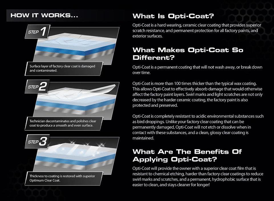 ceramic coating for cars Vancouver opti coat