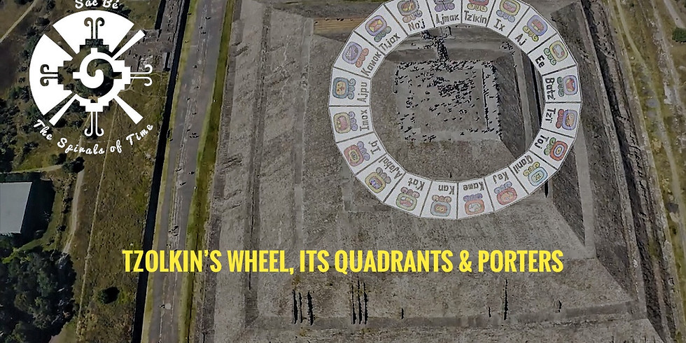 The Spiral of Time: The Tzolkin's Wheel, its Quadrants and Porters -13 Chicchan