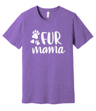 Fur Mama Purple Tee