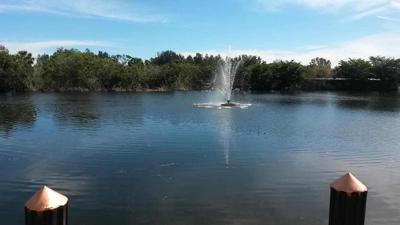 Lake Aerator Pump