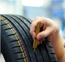 Tyre tread depth in UK