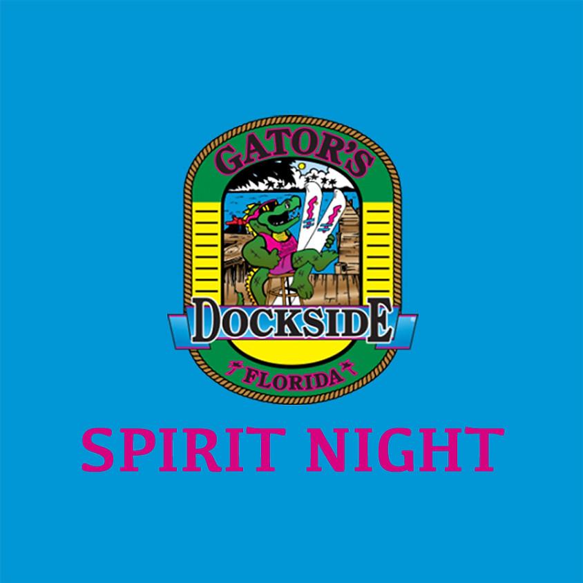 Spirit Night @ Gator's Dockside