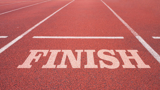 The Finish Line: Seeing Things Through To The End