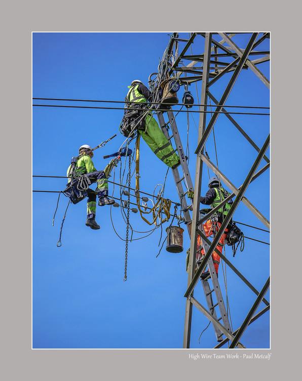 High Wire Team Work