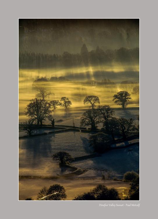 Dinefwr Valley Sunset