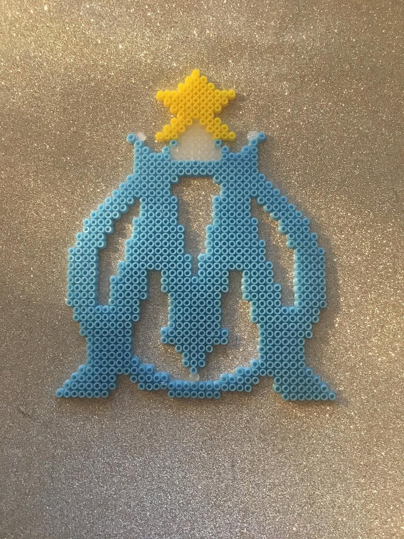 Lcdjmini Pixelart Emblême De Lolympique De Marseille