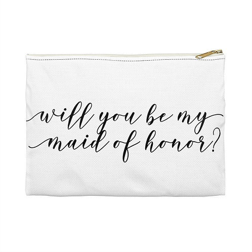 Maid Of Honor Accessory Pouch