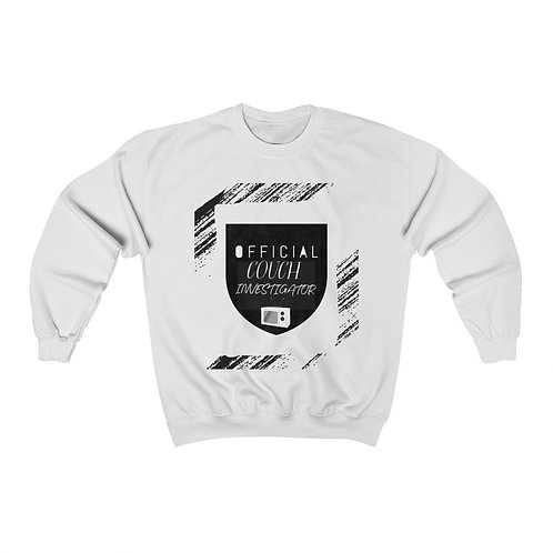 Couch Investigator Unisex Crewneck Sweatshirt