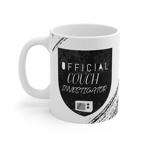Couch Investigator- Mug 11oz
