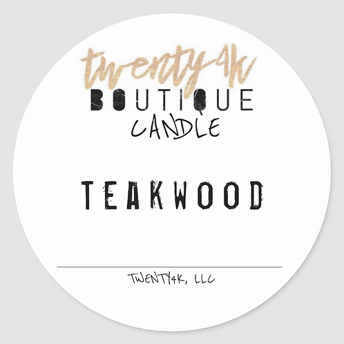 TEAKWOD HIDDEN GEM CANDLE
