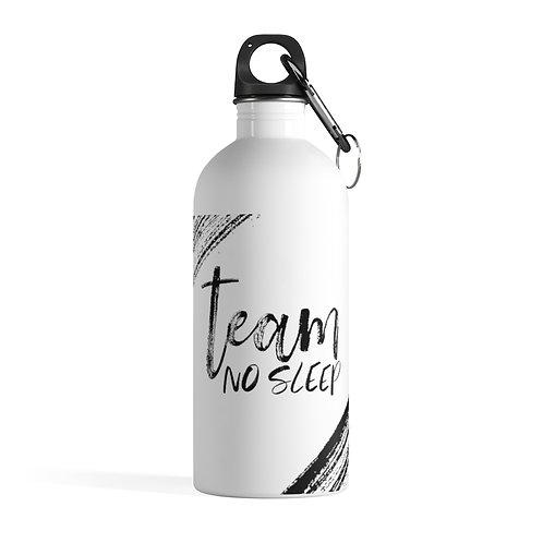 Team No Sleep Stainless Steel Water Bottle