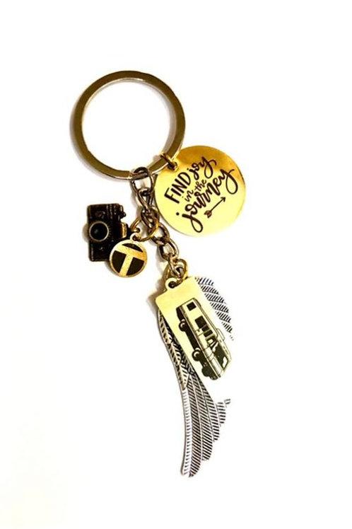Find Joy in the Journey Keychain
