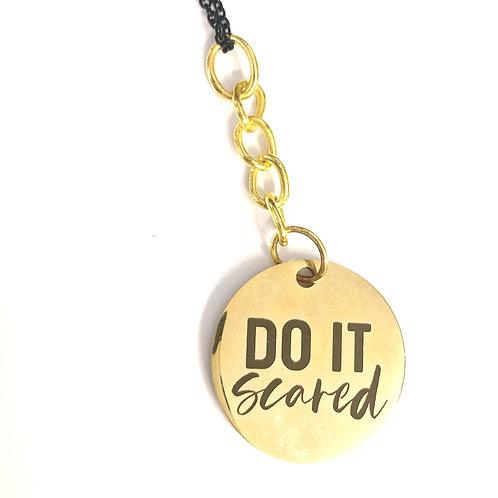 DO IT SCARED NECKLACE