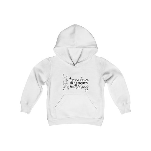 Kids Hooded Sweatshirt: KARMA DANCE