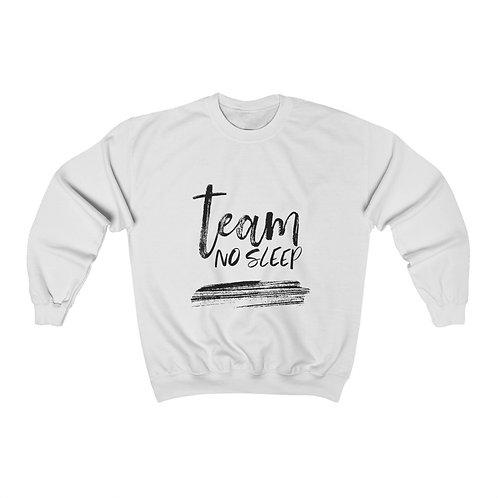 TEAM NO SLEEP Unisex Crewneck Sweatshirt