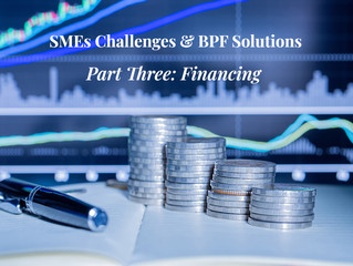 SMEs Challenges & BPF Solutions, Part 3: Financing