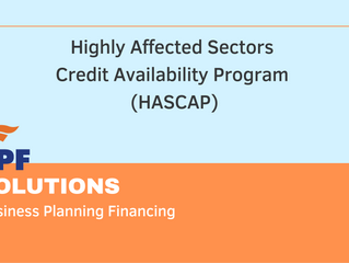 Highly Affected Sectors Credit Availability Program (HASCAP)