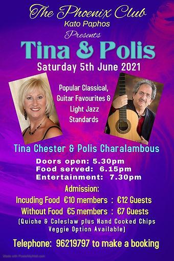 Phoenix 5th June Tina  Polis - Made with