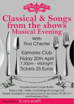 Classical Night Kamares Club - 20th April