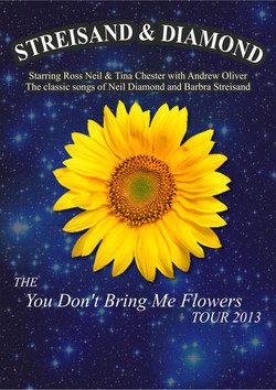 Flowers blank poster