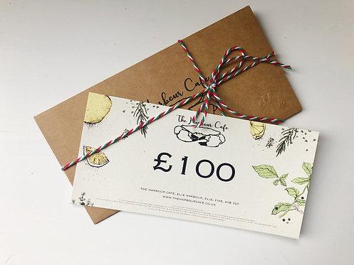 £100 Restaurant Gift Voucher
