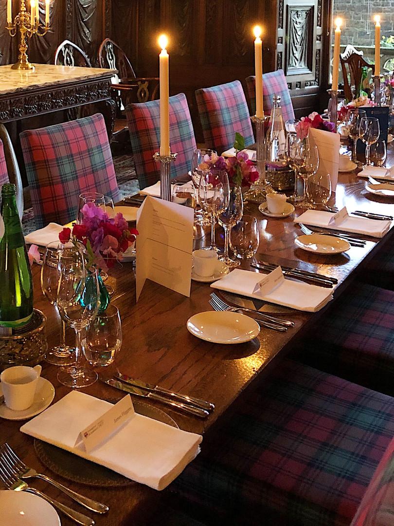 UNIVERSITY DINNER EVENT