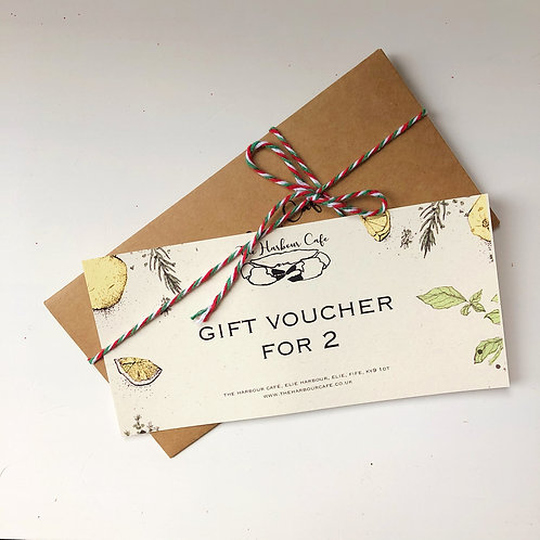 A Taste of The Harbour Café at Home Gift Voucher for 2