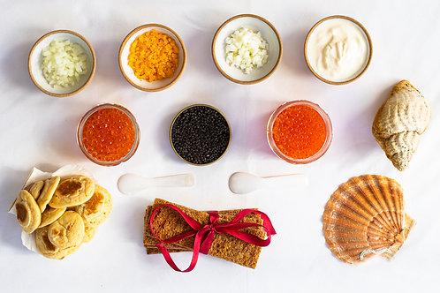Mother of Pearl Caviar Box (GF)