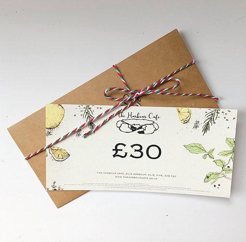 £30 Restaurant Gift Voucher
