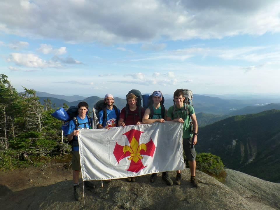 Sommet du mont Saddleback