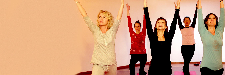 Yoga im Gruppenunterricht