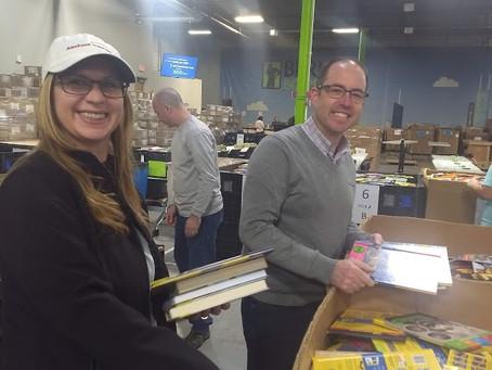 Bernie's Book Bank Success!