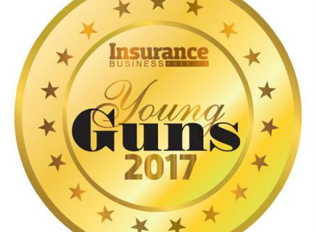 Eric Swanson earns 2017 Young Guns